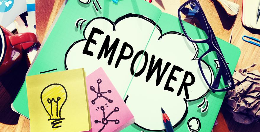 el poder de saber delegar  empowerment
