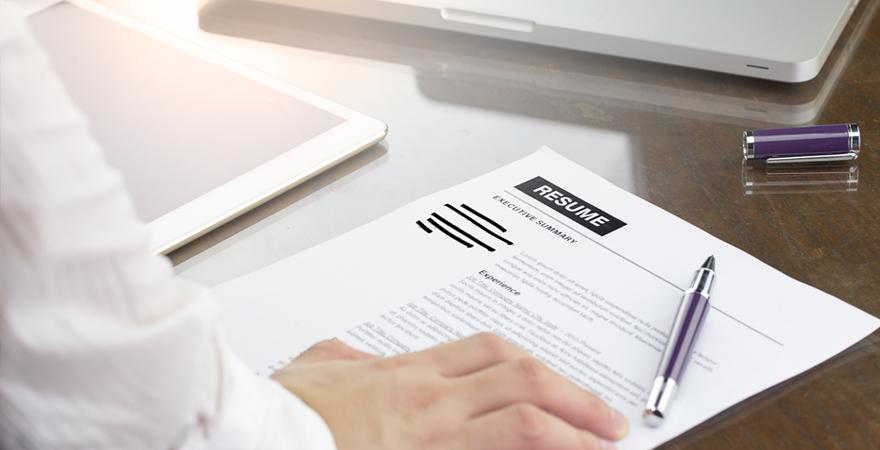 CV ciego | ventajas y desventajas | 880