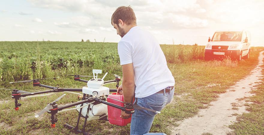 Los drones llegan al campo | Newsletter especialidades Agro | Febrero 2018