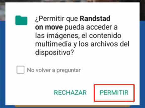 Randstad On Move Android | imagen 6