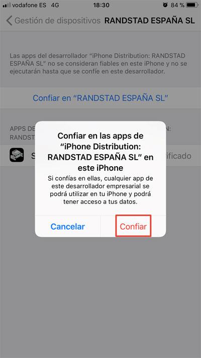 Randstad On Move iOS | imagen 7