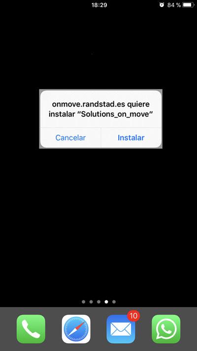 Randstad On Move iOS | imagen 1