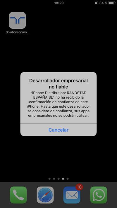 Randstad On Move iOS | imagen 3