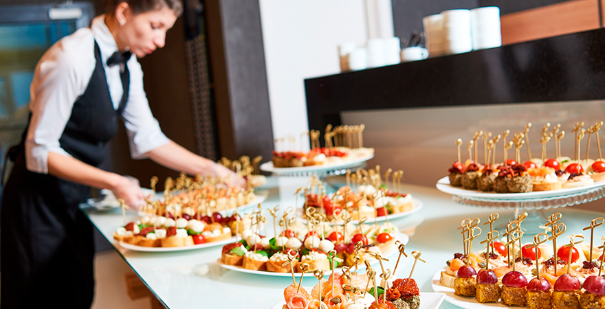 Catering un sector en ascenso