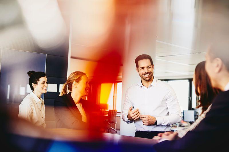 Perfiles digitalización, reunión de trabajo