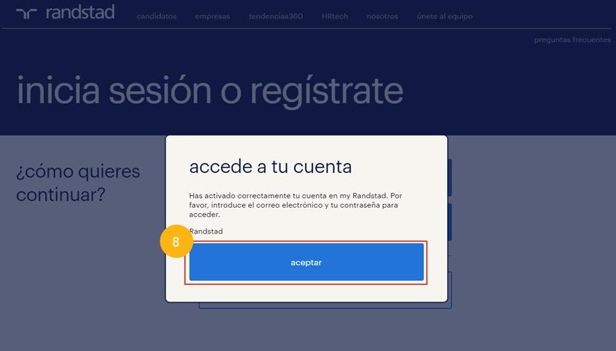 Preguntas frecuentes - Registro con email - Imagen 7