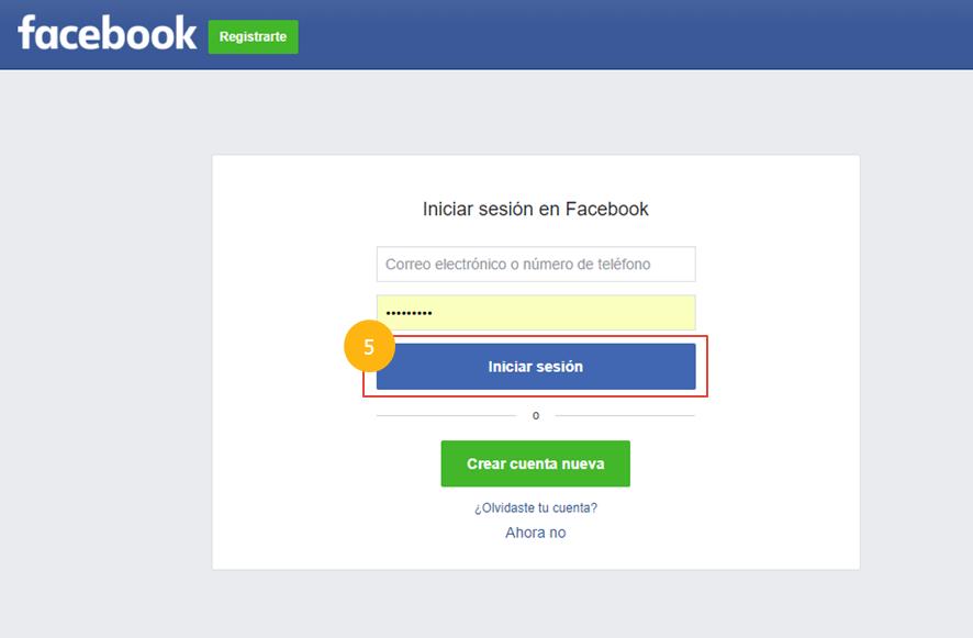 Preguntas frecuentes - Registro con redes sociales - Imagen 5