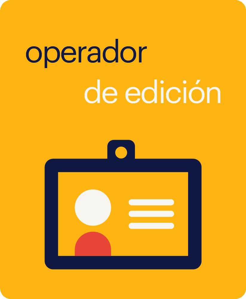 operador de edición