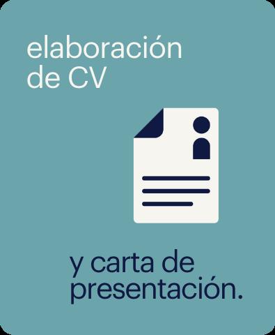 taller de elaboración de cv y carta de presentación